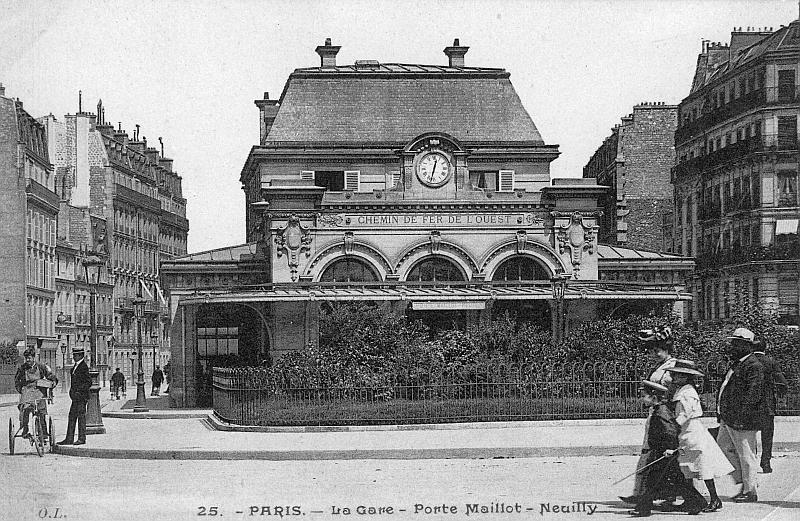 Station neuilly porte maillot association sauvegarde for Rer c porte maillot