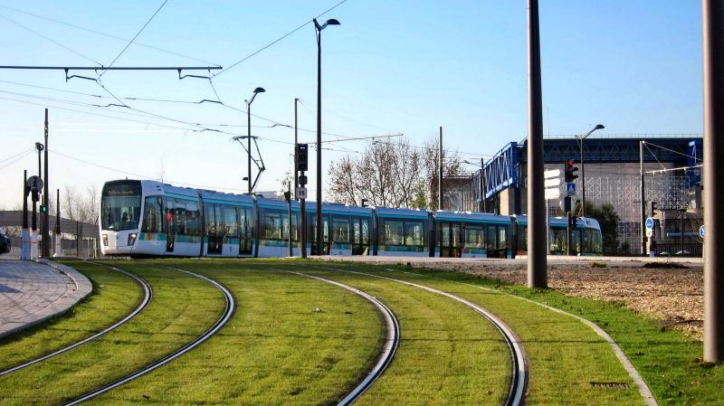 Petite ceinture et service de ceinture du bus pc au tramway t3 associatio - Tramway porte des lilas ...