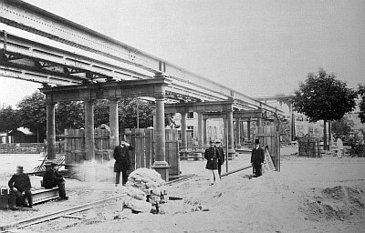 Gare de l 39 avenue de vincennes 1889 association - Cours menuiserie paris ...