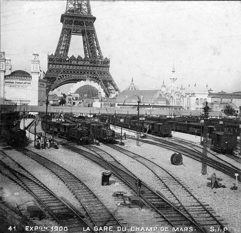 Brief history of the petite ceinture circular railway of for Expo paris mars