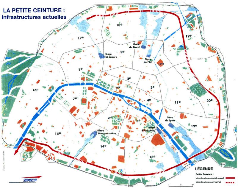 Plan De La Ville De Petit Couronne