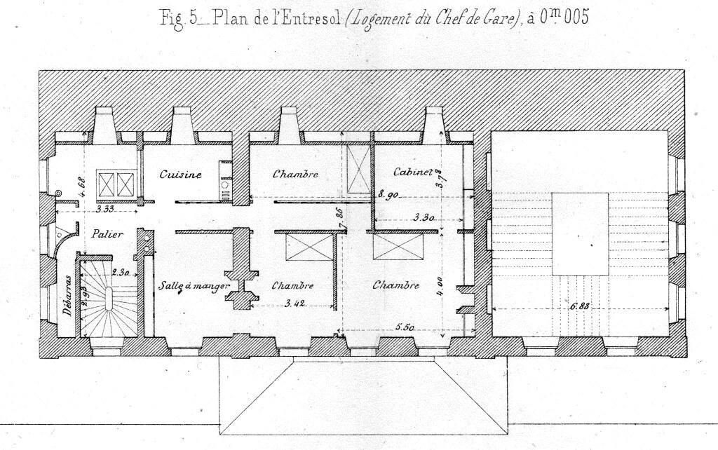 Gare de vaugirard ceinture 1867 association sauvegarde for Plan interieur gare montparnasse