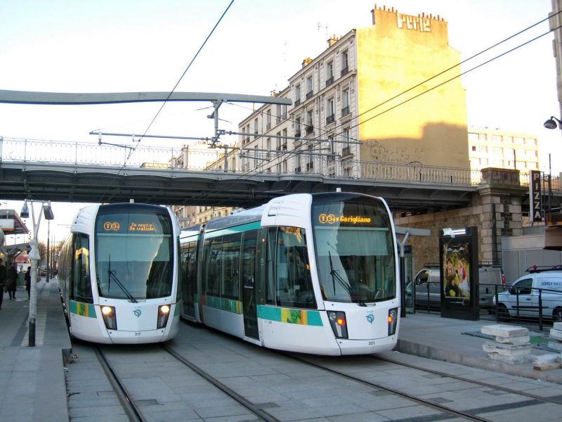 Petite ceinture et service de ceinture du bus pc au tramway t3 association sauvegarde petite - Station service porte de pantin ...