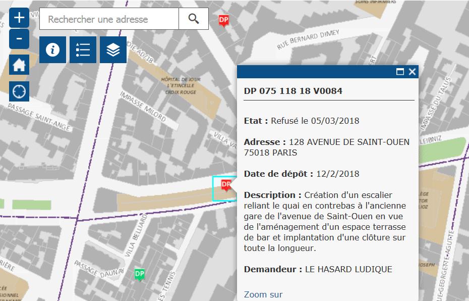 R habilitation de la gare de l 39 avenue de saint ouen mars for Exterieur quai le bouillon de l est